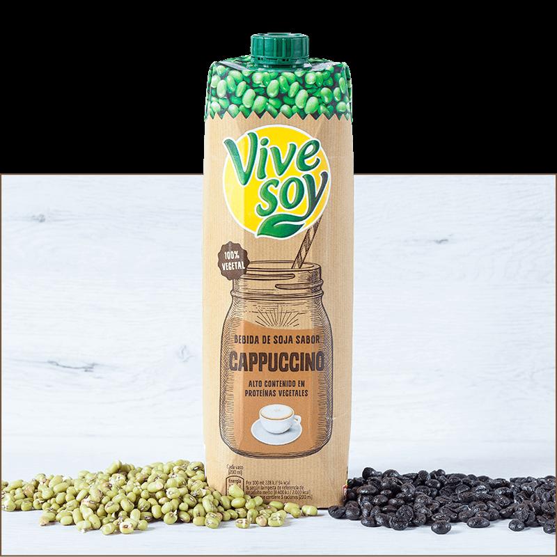 Vivesoy Bebida de Soja Sabor Cappuccino