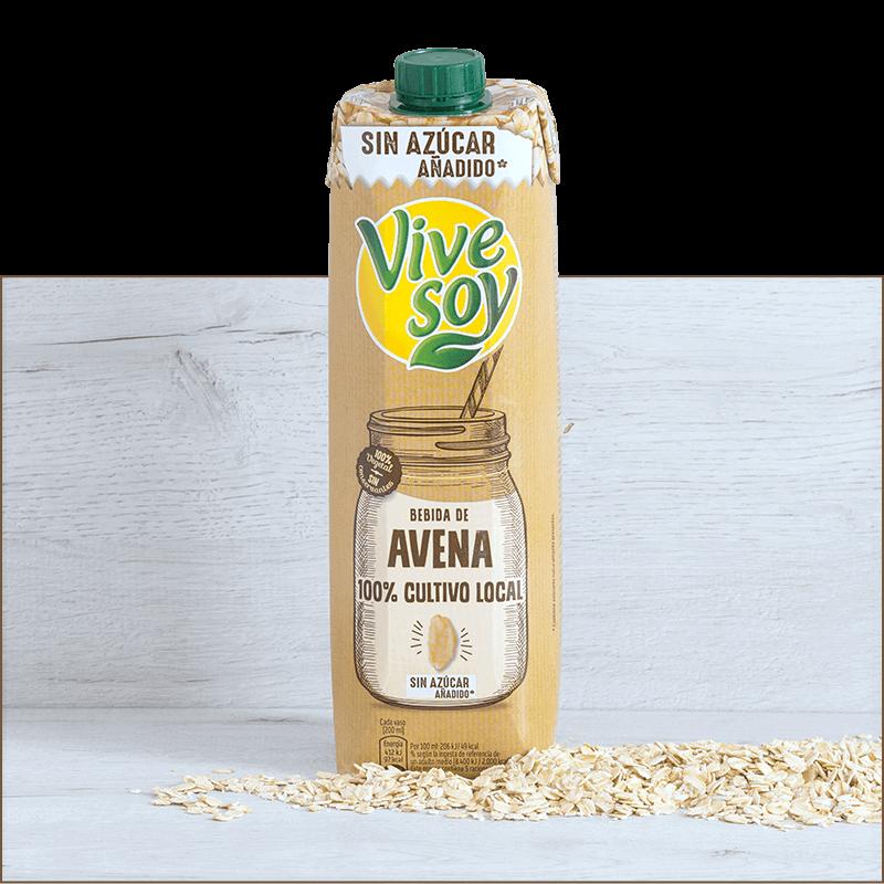 Bebida de Avena 100% Cultivo Local Sin Azúcar añadido*